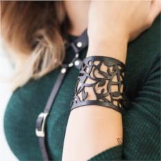 Кожаный браслет Бьянка