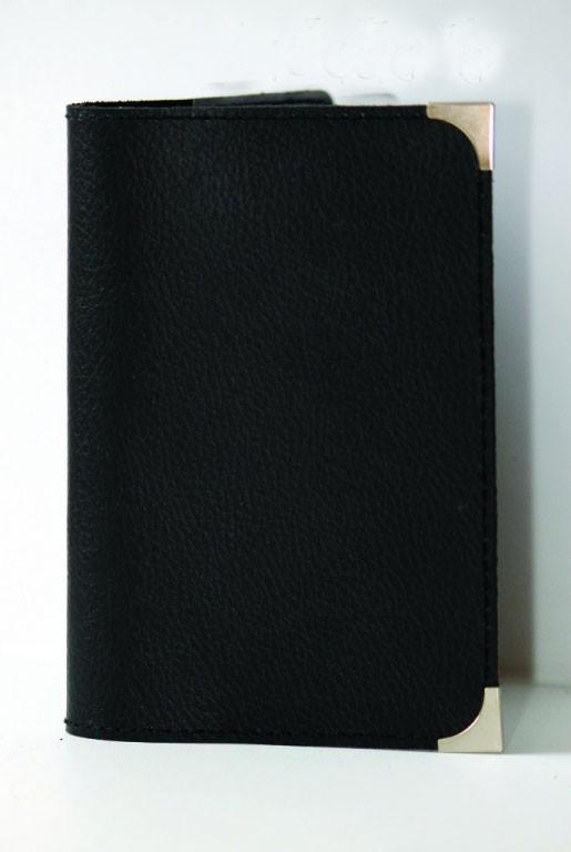 Обложка на паспорт Black