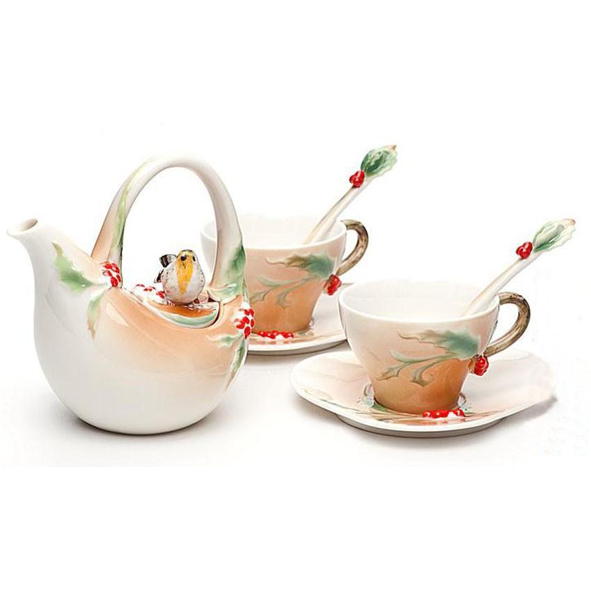 Чайный набор Пташка на палубе на 2 персоны