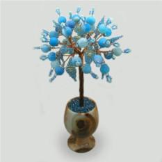 Голубое агатовое дерево счастья