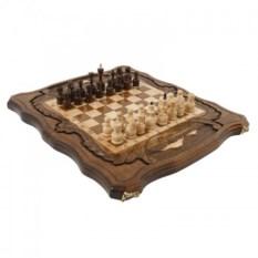 Шахматы и нарды с изображением Арарата