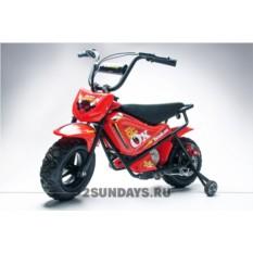 Детский электромотоцикл HOOK OX 24V red