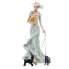 Статуэтка Дама с двумя собаками