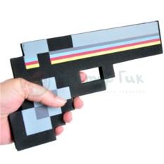 Игрушка Пиксельный пистолет Minecraft