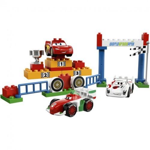 Игрушка LEGO Тачки 2 Мировой Гран-При