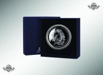 Серебряная закладка для книг Лошадь