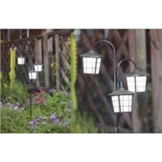 Садовый светильник Ретро фонарь Solar Led Lamp