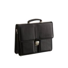 Классический черный портфель Brialdi Bari