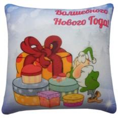 Подушка-антистресс Праздничная (новогодняя)