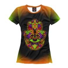 Женская футболка Слон