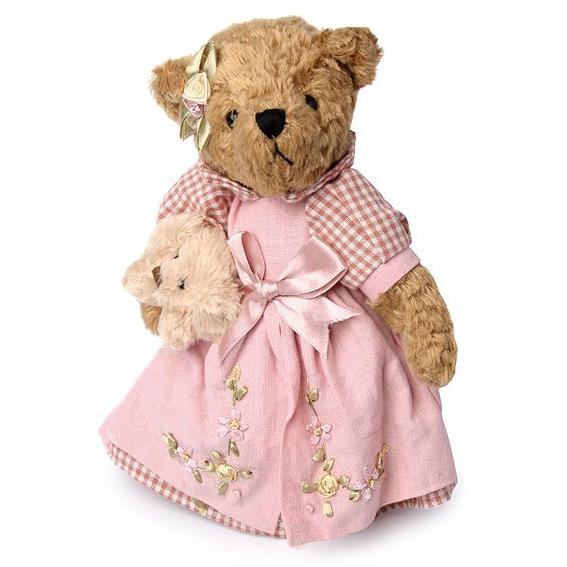 Медведица с собачкой