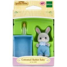 Игровой набор Sylvanian Families Малыш Серый кролик