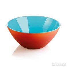Красно-голубая салатница My fusion