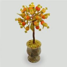 Дерево из агата Осенние мотивы