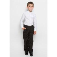 Темно-коричневые классические брюки для мальчика Imperator