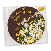 Шоколадный диск От всего сердца!