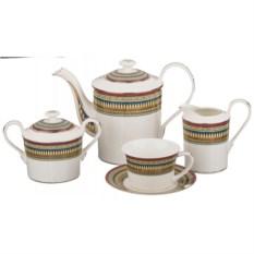 Чайный сервиз Нефертити на 6 персон