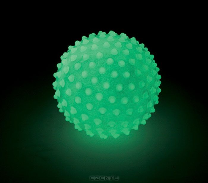 Массажный светящийся мяч Edushape Glow In The Dark Sensory Ball