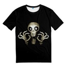 Мужская футболка Скeлетик
