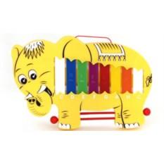Игрушечный ксилофон Слон