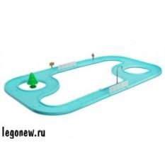Большой гоночный трек Robocar Poli