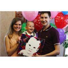 Картина для семьи по фото своими руками