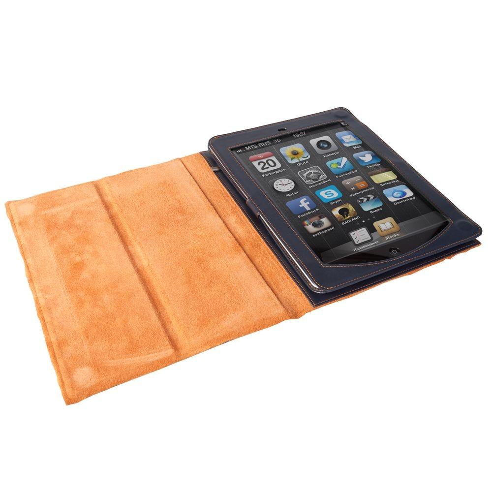Синий чехол для iPad Palermo