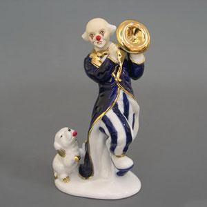 Фигурка «Клоун с трубой»