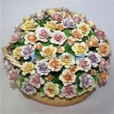 Цветы из фарфора Весеннее настроение