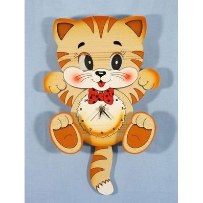 Часы настенные «Котик»