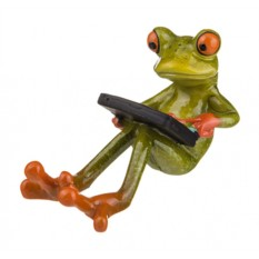 Фигурка Лягушка с планшетом