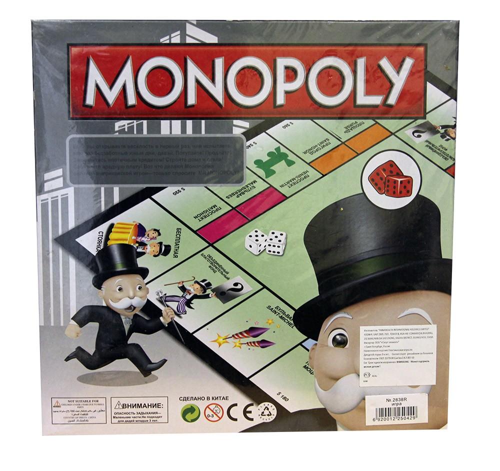 Игра Монополия от братьев Паркер