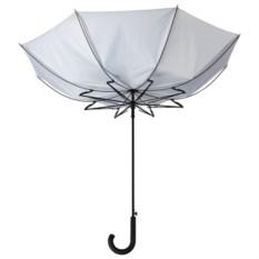 Серебристый зонт-трость «Ветер»