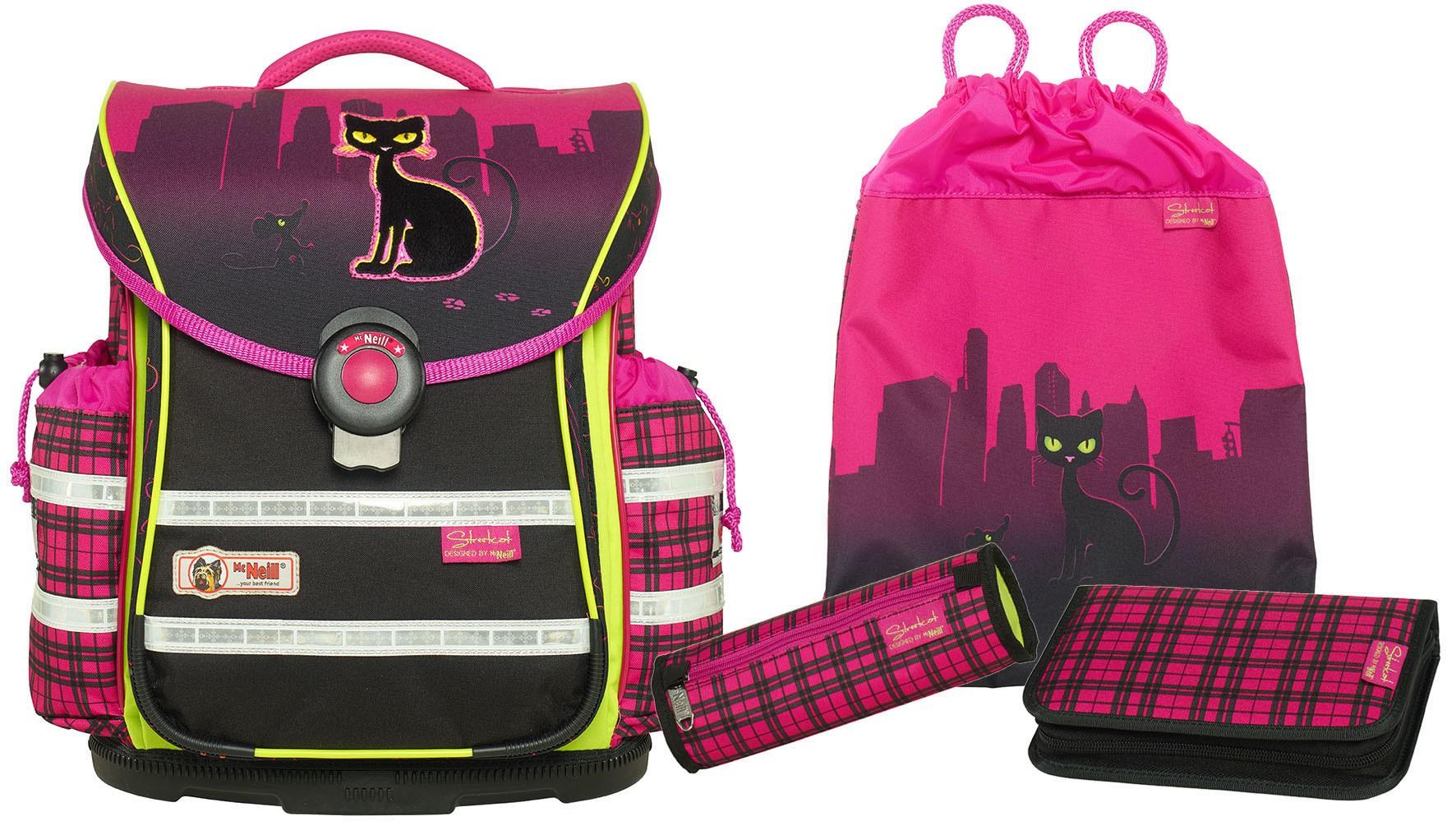 Школьный рюкзак ERGO Light PLUS Уличный кот