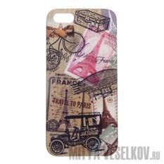 Чехол для IPhone 5 Ретро-Париж
