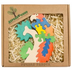 Развивающая игрушка Попугай на ветке