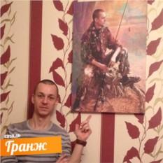 Мужской Гранж-портрет по фото