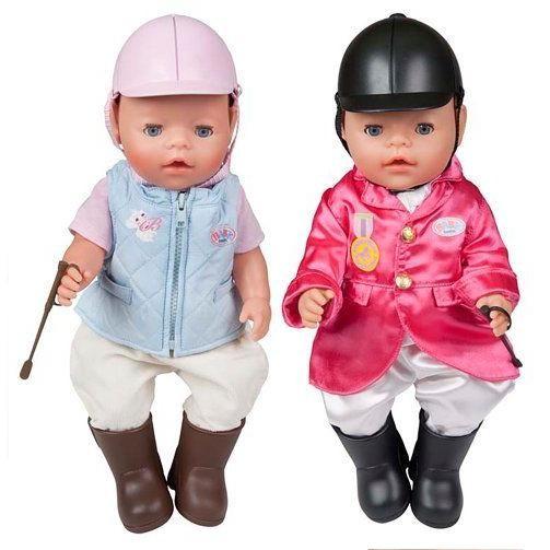 Набор одежды Жокей для куклы Baby Born
