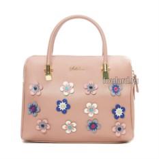 Женская сумка из экокожи Sabellino (цвет: розовый)