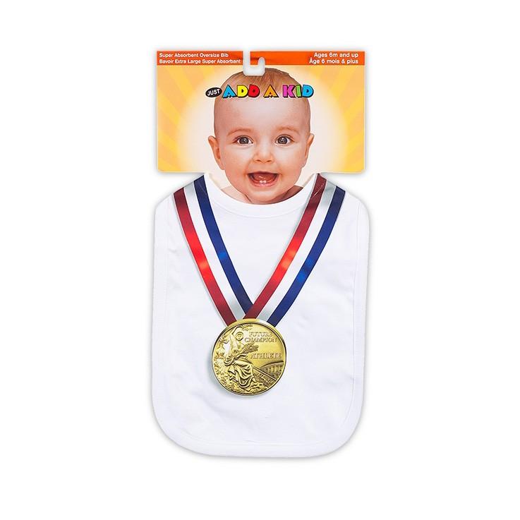 Слюнявчик Золотая медаль