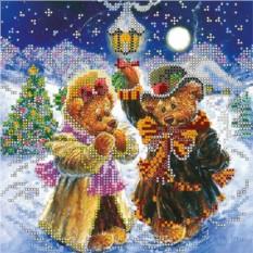 Набор для вышивания Искры волшебной зимы Абрис Арт