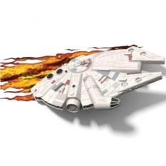 3D светильник Star Wars Тысячелетний Сокол