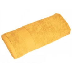Махровое полотенце (цвет — желтый)