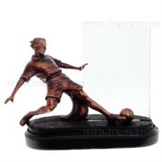 Декоративная фигурка с фоторамкой Футболист