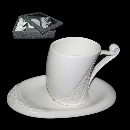 Набор для кофе Нежный каприз на 6 персон
