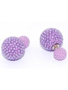 Серьги, фиолетовые