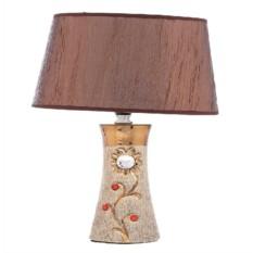 Керамическая настольная лампа Flower