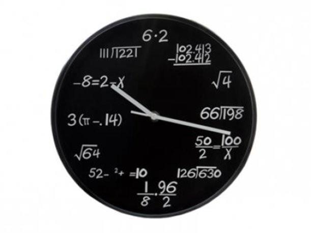 Настенные часы «Формула времени»