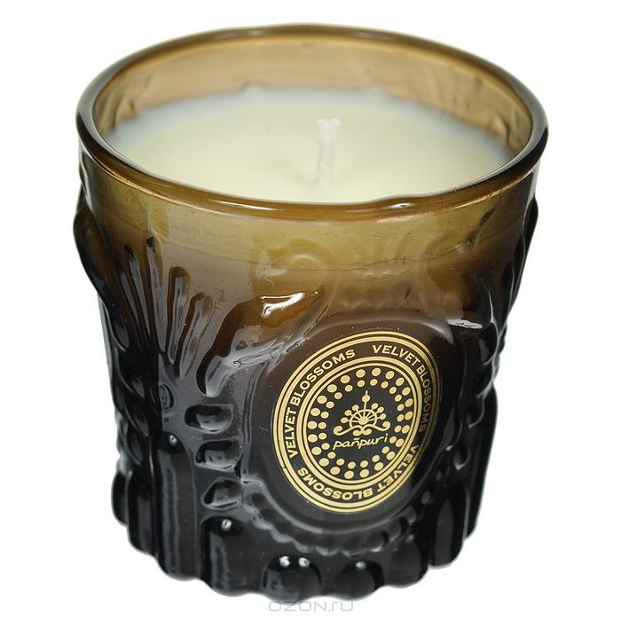 Ароматизированная свеча Бархатные цветы, 50 г