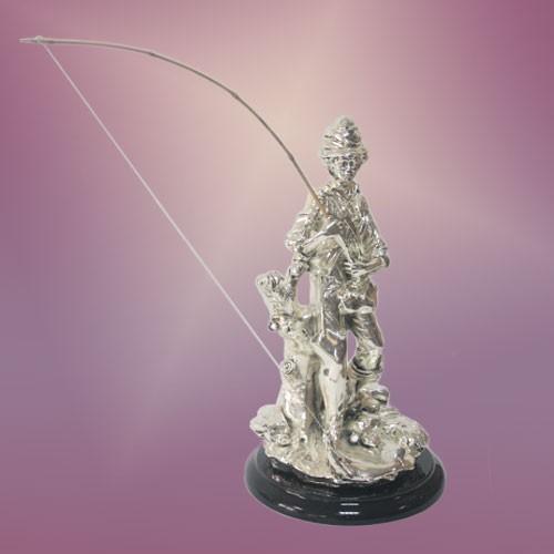 Скульптура Ловец удачи